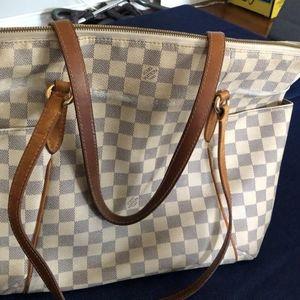 Louis Vuitton bag damier azur canvas